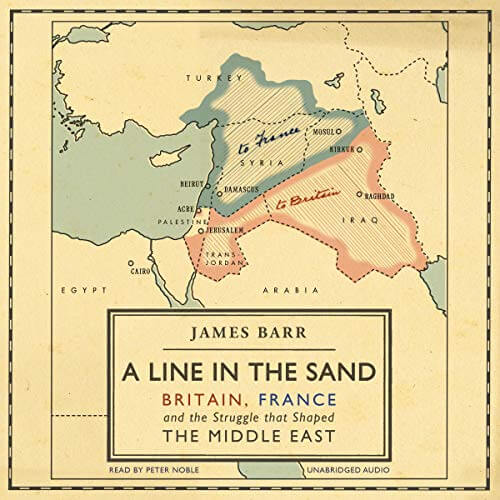 Peter Noble-Audiobook Narrator-A Line in the Sand