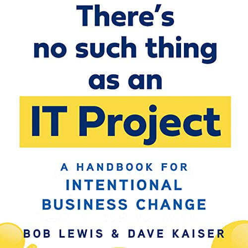 Peter Noble-Audiobook Narrator-There's No Such Thing as an IT Project